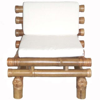 Bamboo Payang Chair with Cushion (Vietnam)