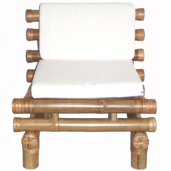 Bamboo Payang Chair with Cushion (Vietnam)