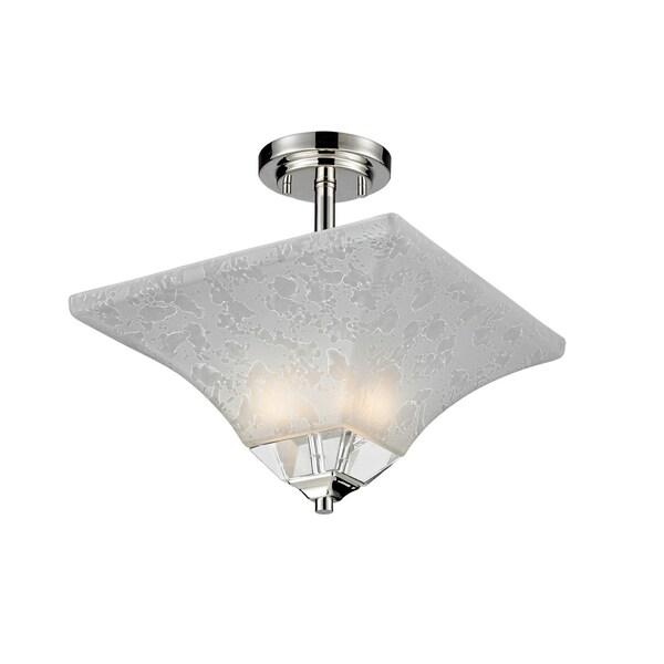 Pershing Semi-Flush Light Fixture