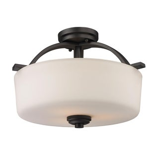 Arlington Semi-Flush Indoor Light Fixture
