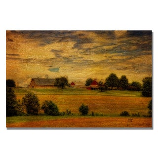 Lois Bryan 'Family Farm' Canvas Art