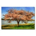 Lois Bryan 'Cherry Tree' Canvas Art