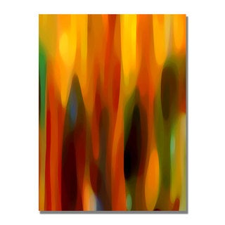 Amy Vangsgard 'Forest Sunlight Vertical' Canvas Art