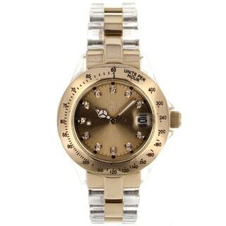 Toy Watch Women's Heavy Metal Goldtone Watch