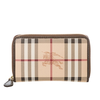 Burberry 3827425 Haymarket Check Zip-around Wallet