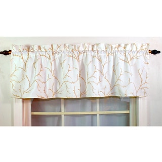 Willow Ivory Lined Valance