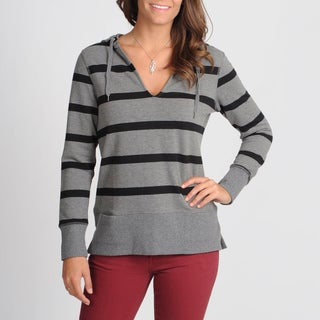 Central Park Women's Striped Sweatshirt Top