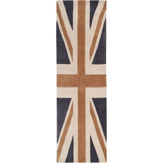 Hand-tufted Place Union Jack Rug