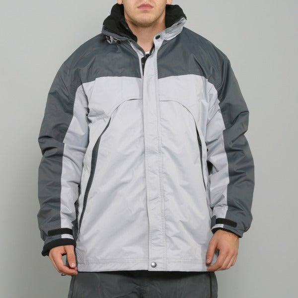 Pulse Men's 3-in-1 System Charcoal Snowboard Jacket