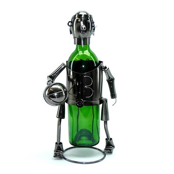 Wine Caddy Threestar Basketball Player Wine Bottle Holder