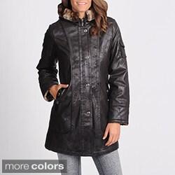 Nuage Women's Napa Faux Shearling Coat
