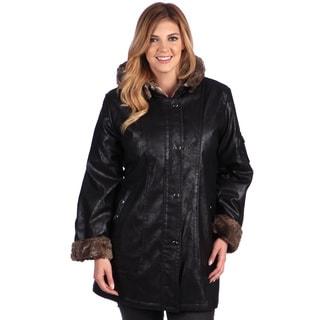 Nuage Women's Plus Size 'Napa' Coat