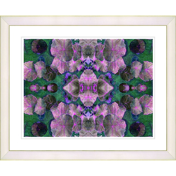 Studio Works Modern 'Dance of the Pixies - Pink' Framed Giclee Print