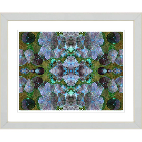Studio Works Modern 'Dance of the Pixies - Blue' Framed Giclee Print