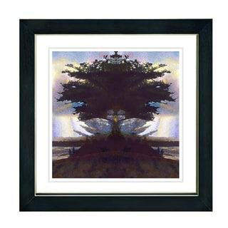 Studio Works Modern 'Carmel Beach' Framed Print