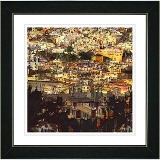 Studio Works Modern 'Morning in the City' Framed Print