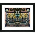 Studio Works Modern 'Milles Gate' Framed Print