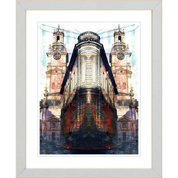 Studio Works Modern 'Flatiron Building' Framed Print