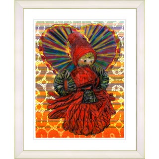 Studio Works Modern 'Yarn Mother' Framed Art Print