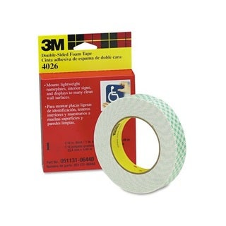 Scotch Permanent Double Sided Mounting Tape (Pack of 3)