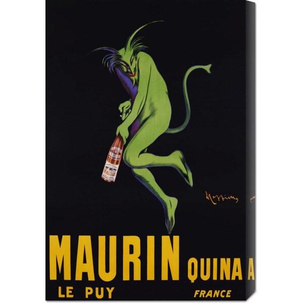 Big Canvas Co. Leonetto Cappiello 'Maurin Quina, ca. 1906' Stretched Canvas Art