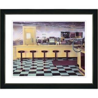 Studio Works Modern 'Diner' Framed Art Print