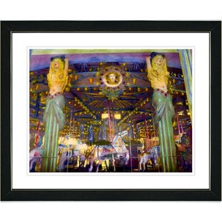 Studio Works Modern 'Carousel' Framed Art Print