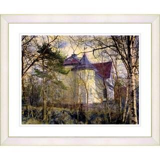 Studio Works Modern 'Summer Home' Framed Art Print