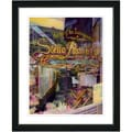 Studio Works Modern 'Stella Pastry Cafe' Framed Art Print