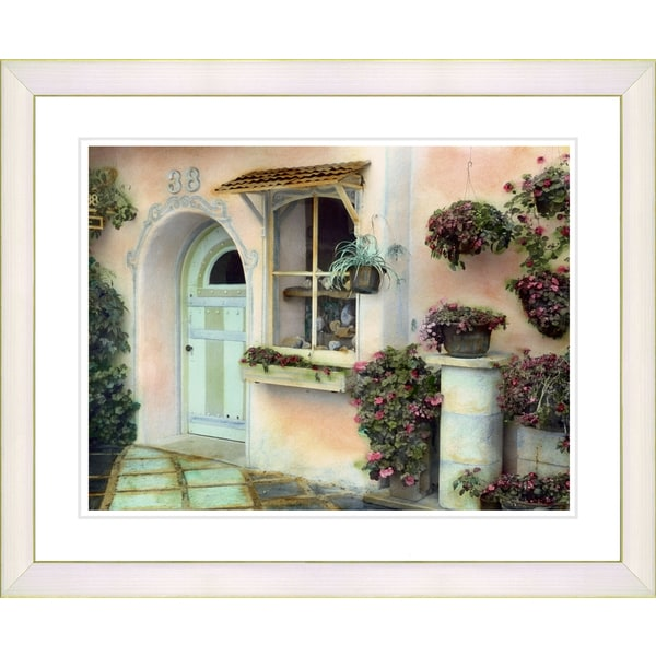 Studio Works Modern 'Pink House' Framed Art Print