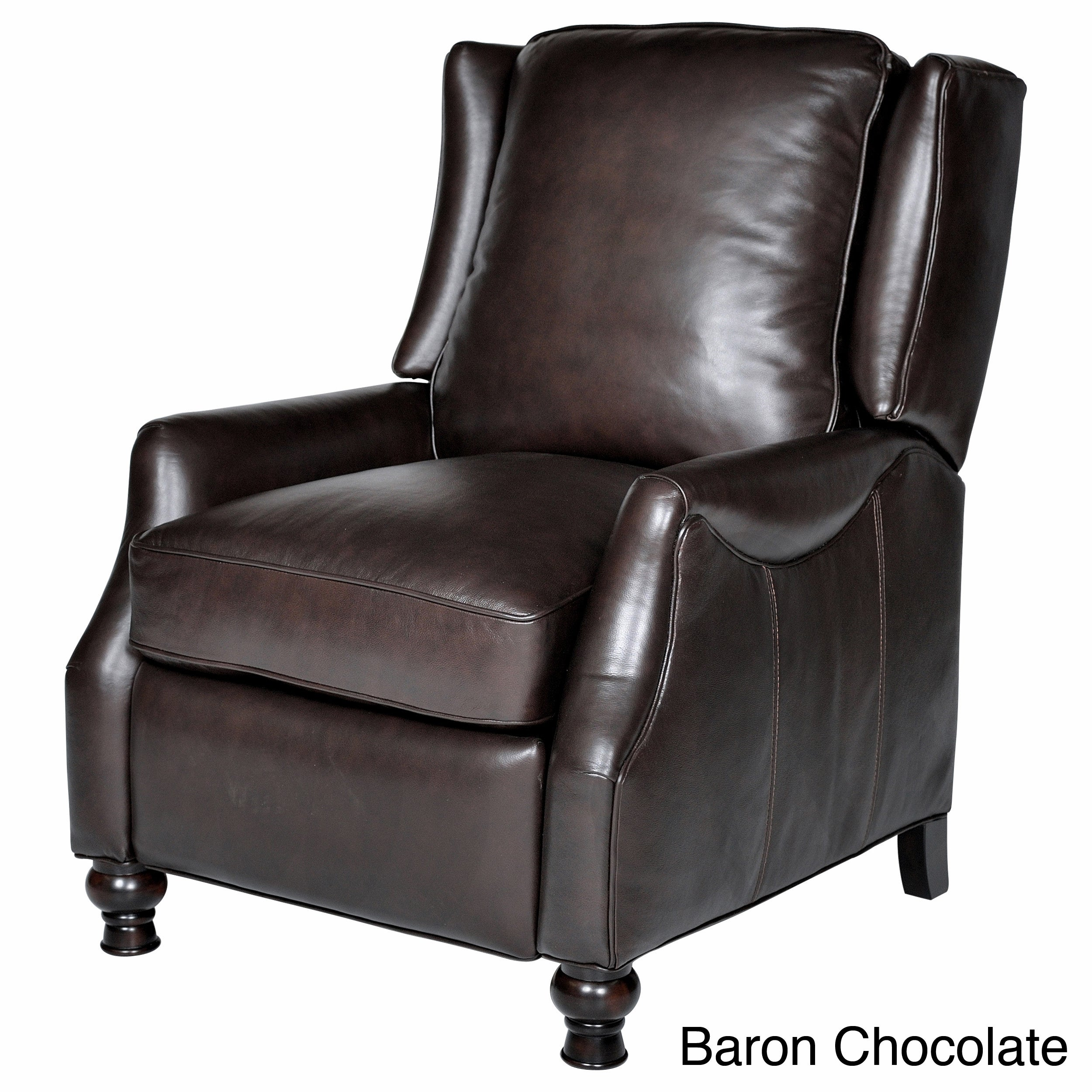 Opulence Home Charles Leather Recliner
