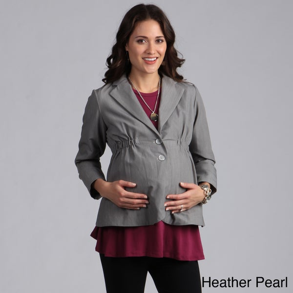 Ashley Nicole Maternity Career Jacket