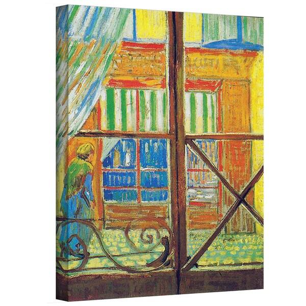 VanGogh 'Pork-Butchers Shop Through The Window' Wrapped Canvas Art