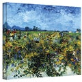 VanGogh 'Green Vineyard' Wrapped Canvas Art