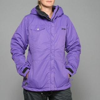 Zonal Women's 'Edge' Purple Snowboard Jacket
