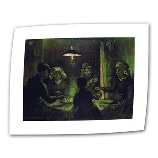 VanGogh 'The Potato Eaters' Flat Canvas Art