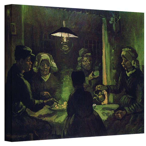 VanGogh 'The Potato Eaters' Wrapped Canvas Art