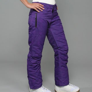 Zonal Women's 'Pint' Purple Snowboard Pants