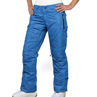 Zonal Women's 'Pint' Skydiver Check Snowboard Pants