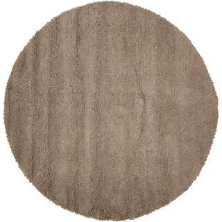 Hand-tufted 'Elma' Beige Wool Rug (10' Round)