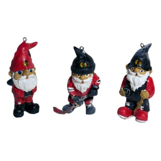 NHL Resin Gnome Ornament Set (Pack of 3)