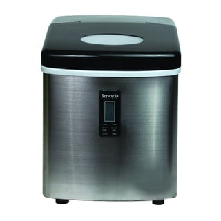 Smart+ Products Portable Stainless Steel Ice Maker