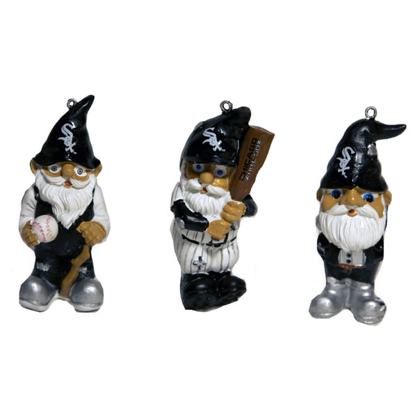 MLB Resin Gnome Ornament Set (Pack of 3)