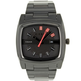 Black Diesel Men's 'Analog' Stainless-Steel Watch