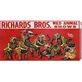 'Richards Bros. Wild Animal Shows, ca. 1925' Stretched Canvas Art