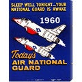 Retro Travel 'Today's Air National Guard' Stretched Canvas Art