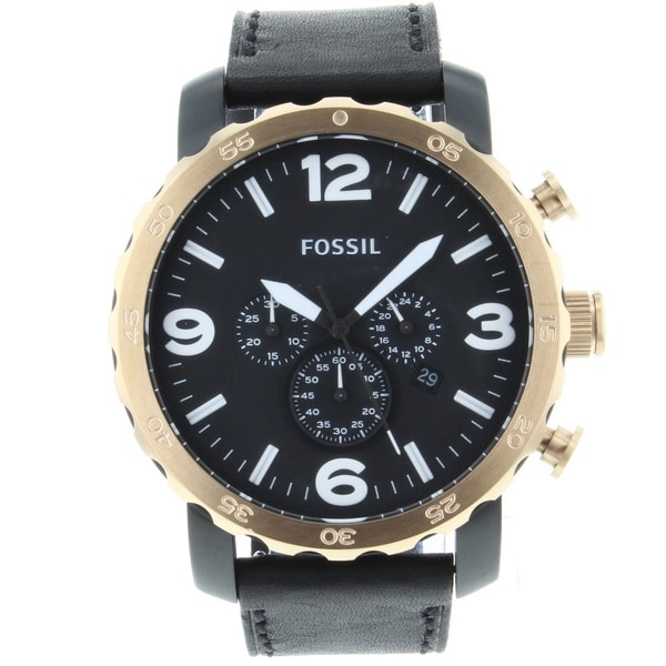 Fossil Men's 'Nate' Stainless Steel Watch