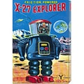 Retrobot 'X-27 Explorer' Stretched Canvas Art