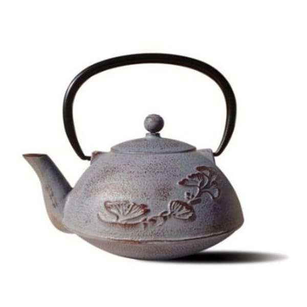 Old Dutch Dusty Plum Cast Iron 'Nikko' 33-ounce Teapot