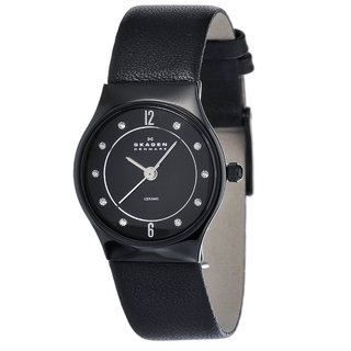Skagen Women's Ceramic Crystal Watch